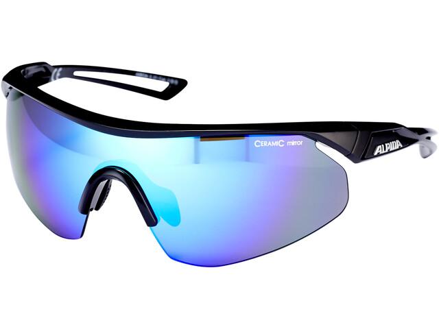 Alpina Nylos Shield Cykelbriller, black